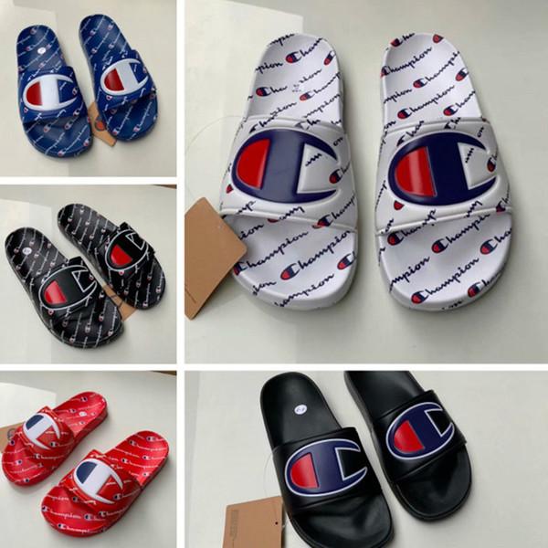 Planas Playa De Hombres En Unisex Mujeres Zapatillas Lluvia Mulas Deslizarse Carta Verano Compre Sandalias Zapatos Campeón Chanclas gYbf6Iv7y