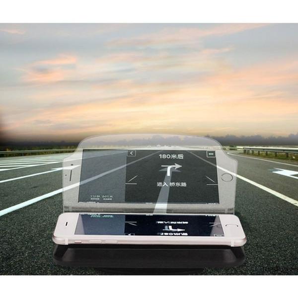 Car Holder Telefone Hud Display do Projetor compatível com a maioria Telefones GPS HUD cabeça Up Display Titular 2019 New