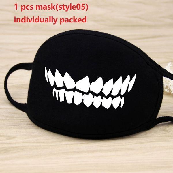 1pc máscara negro (style05)