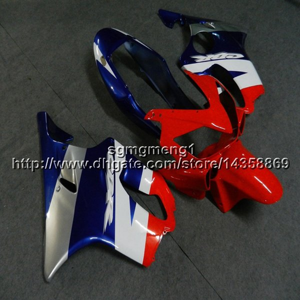 colors+Gifts Injection mold white red blue motorcycle cowl for HONDA CBR600F4i 2004-2007 CBR600 F4i 04 05 06 07 ABS motorcycle Fairing hull