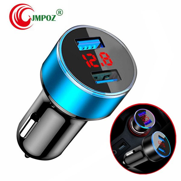 High Quality Universal Smart Fuse Circuit-Breaker Protection Dual USB Port 5V 2.1A 1A Car Charger For Mobile Phones Tablet PC