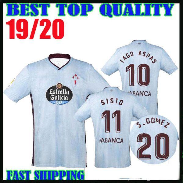 2019 2020 Celta de Vigo camiseta de fútbol 19 20 GOMEZ EMRE MOR IAGO ASPAS camiseta de fútbol SISTO BOUFAL Calidad tailandesa