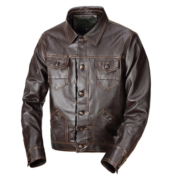 Мужская PU jacke мотоцикл кожаная куртка новый winterclassic куртки осень и зима кожаная одежда Марка мотоцикл кожа