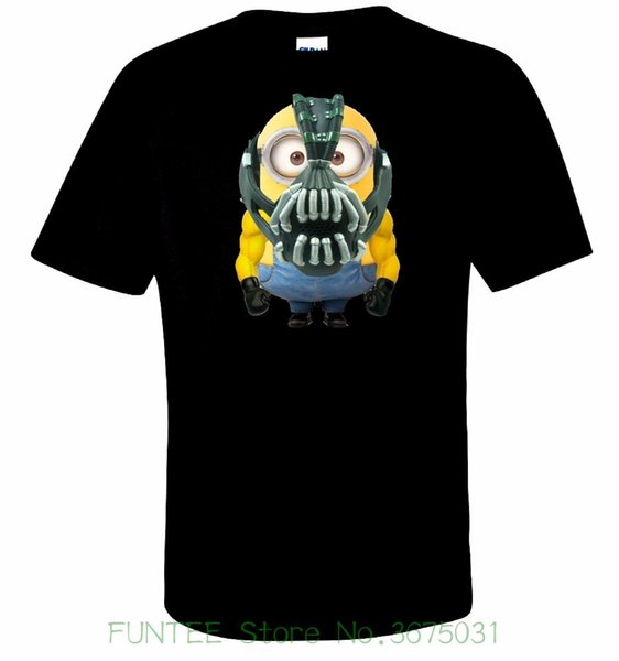 Women's Tee Minion Bane T Shirt 100% Cotton Tee By Bmf Apparel Women T Shirt Short Funny Tees