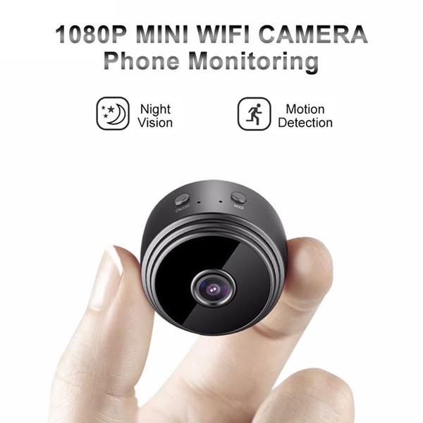 A9 Mini Cámara Wifi Full HD 1080P Infrarrojo Visión Nocturna Inalámbrica IP P2P Cámaras Detección de movimiento DV Home Monitor de Seguridad Videocámara