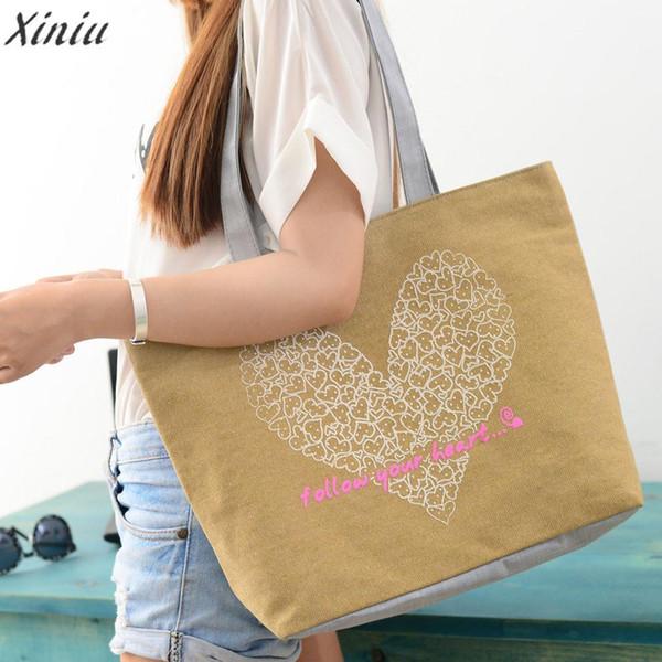 Cheap FashionFashion handbag women lady girl Cute Printing Women Canvas Bags Shoulder Bag Casual Handbag Bolsas Feminina Sac A Main #5