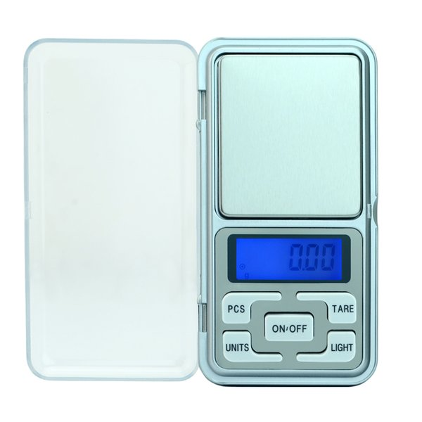 100/200/300/500 X 0,01 g / 0,1 g Mini Pocket Digitalwaage für Gold Sterling Silber Schmuck Waagen Balance Gram Electronic
