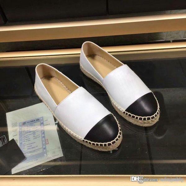 2018 Женщины Натуральная Кожа Эспадрильи Марка Дизайнер Моды Квартиры Мокасины Нижняя часть веревки Обувь Высокого Качества Повседневная Обувь