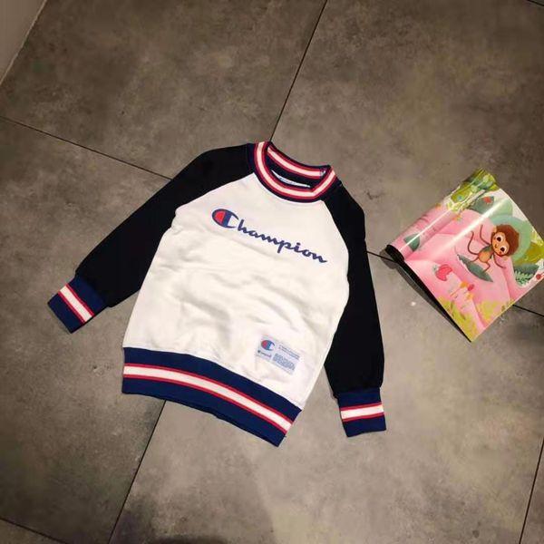 Boy clothe set brand name autumn baby girl sport set winter warm clothe girl set 110-150 for big boy girl dress INS NEW FASHION