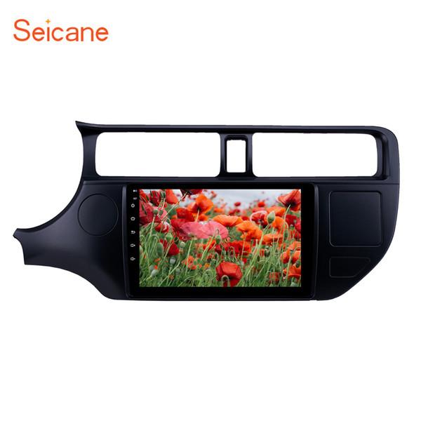 Android 8.1 9 pouces unité centrale GPS Car Radio pour 2012 Kia Rio LHD avec Bluetooth USB WIFI AUX support caméra de recul Carplay TPMS TV numérique