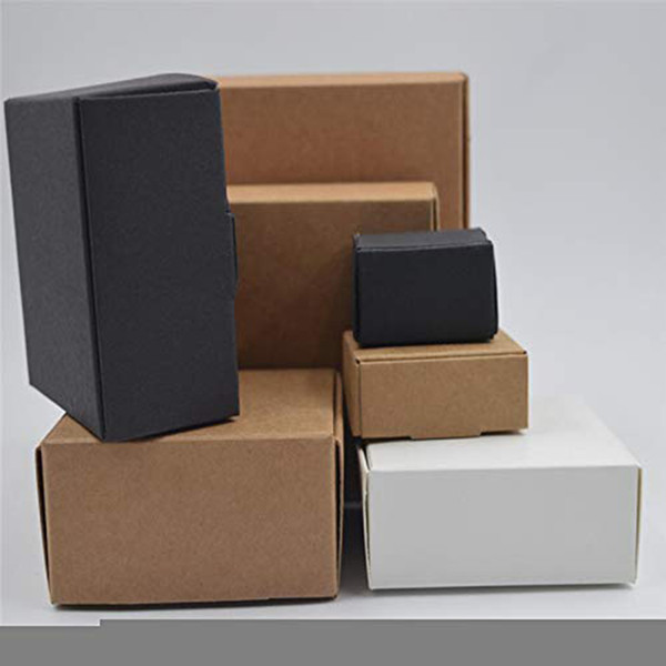 10 teile / los Kleine Kraftpapier Box Karton Handgemachte Seifenkiste Party Hochzeit Favovrs DIY Handwerk Geschenk Verpackung Schmuck