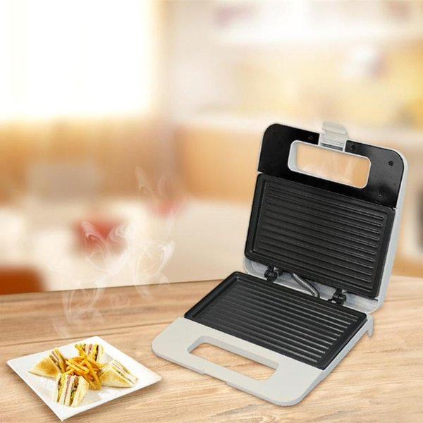 Stainless Steel Electric Grill Waffle Maker Automatic temperature control Egg Frying Pan Sandwich Toaster Breakfast Machine