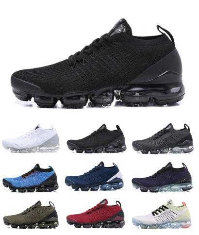 AIR 2019 Designer Shoes Running Donna Uomo Mercurial Plus Ultra SE Maglia da corsa Utility Scarpe da ginnastica Triple Black Outdoor Sneakers Scarpe sportive 36-45
