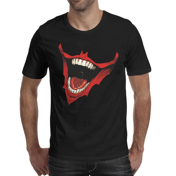 The Joker Is Wild Celebrating 75 Years Men Tee Breathable Hiking Cotton O Neck Shirts Macho T Shirt Vintage T Shirts for Man