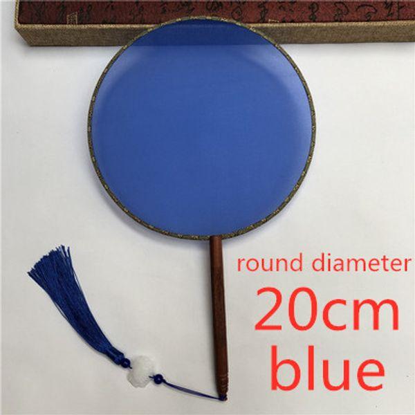 round blue 20cm