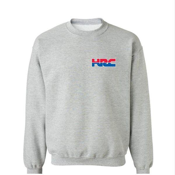 HRC Honda Manga Comprida Hoodies Homens Hoodiess Geek Para Homens Crewneck Engraçado Hoodies Hip Hop O-pescoço