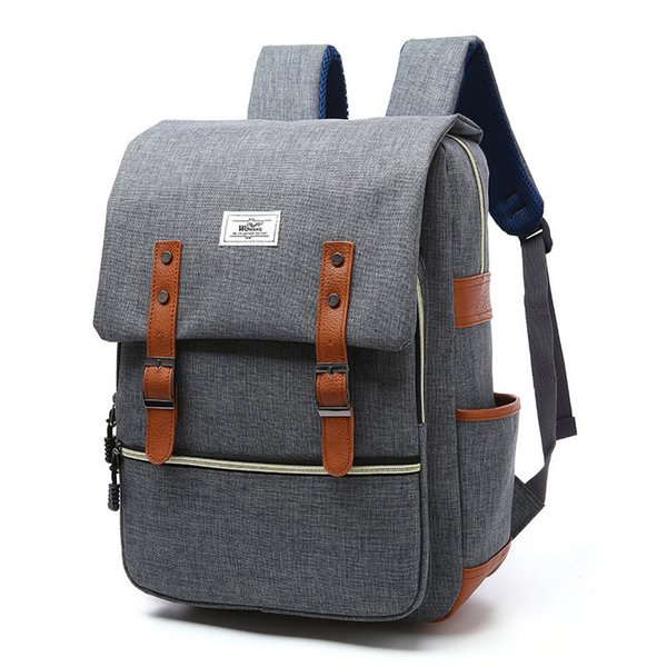 Vintage Women Nylon Backpack School Bags For Teenagers Large Quality Fashion Men Laptop Backpacks Mochilas Escolar
