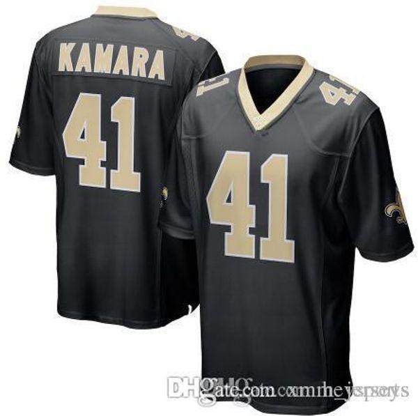 2018 Saints 41 Alvin Kamara Jersey New Orleans Saints 9 Drew Brees 88 Dez Bryant 13 Michael Thomas 23 Marshon Lattimore Football Jerseys From