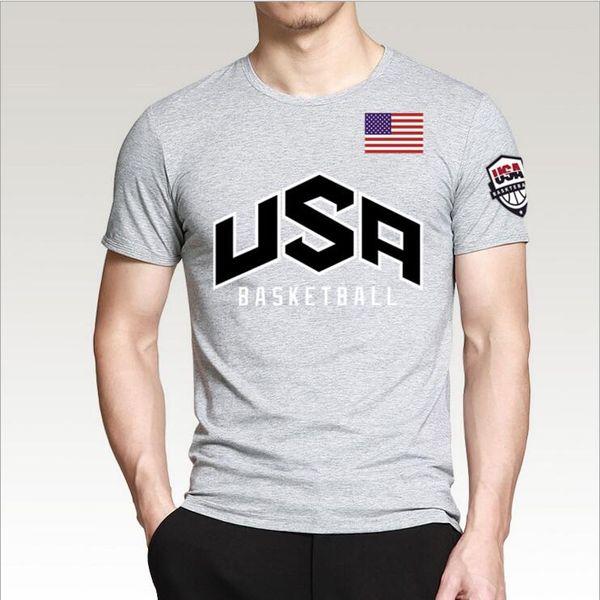 Mens Designer T-shirts USA tshirt pour hommes Été à manches courtes hip hop Basketball Hommes vêtir