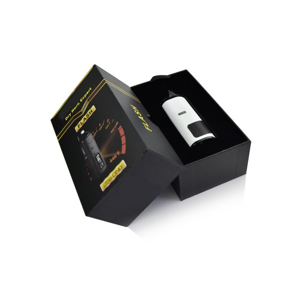Authentic LVsmoke flash Kit 2-In-1 dry herb vaporizer dry herb wax vaporizers 1600mah dabber ceramic atomizers 0-446F Fast Heating vape pen