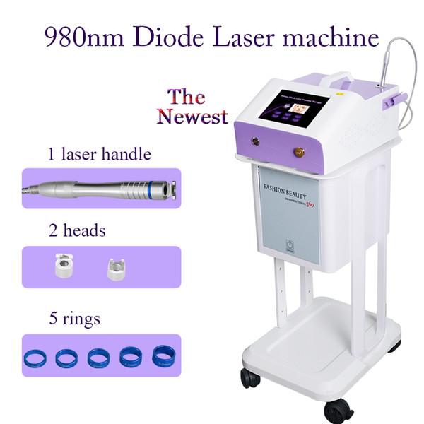 eliminación vascular venas de araña facial eliminación de diodo láser máquina de terapia vascular 30w manual de usuario avanzado aprobado