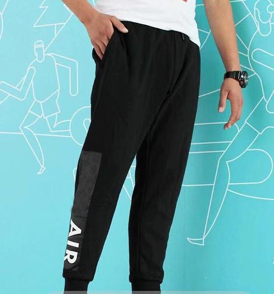 Designer de moda Esporte Calças Da Marca Dos Homens Corredores Com Letras Elásticas de Luxo jogging sweatpants Mens Calças Roupas S-3XL Atacado