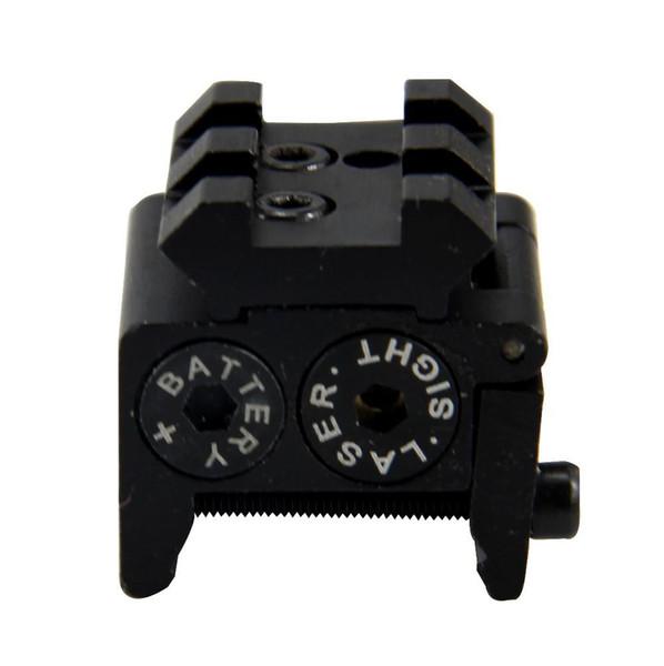 Puntatore laser rosso per mirino ottico rosso / mini Airsoft rosso di trasporto con puntatore per fucile ad aria compressa