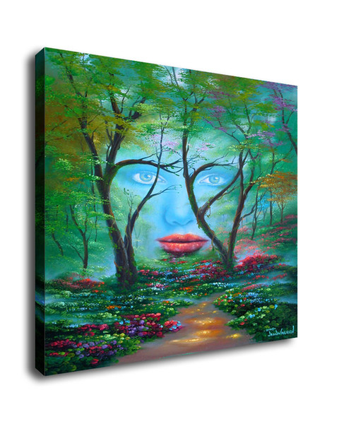 Jim Warren Abstract Art Natures Eyes,Oil Painting Reproduction High Quality Giclee Print on Canvas Modern Home Art Decor