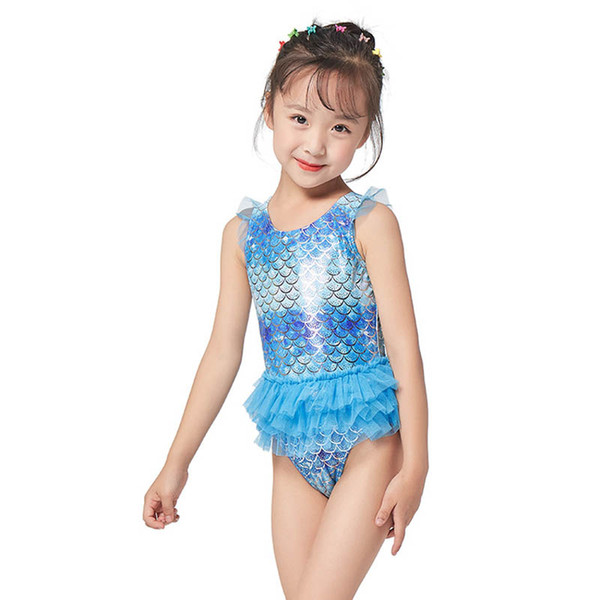 best selling Mermaid kids swimwear kids  clothes girls swimwear One-piece swimsuit girls bikini Kids Bathing Suits Child Sets Beachwear A6775