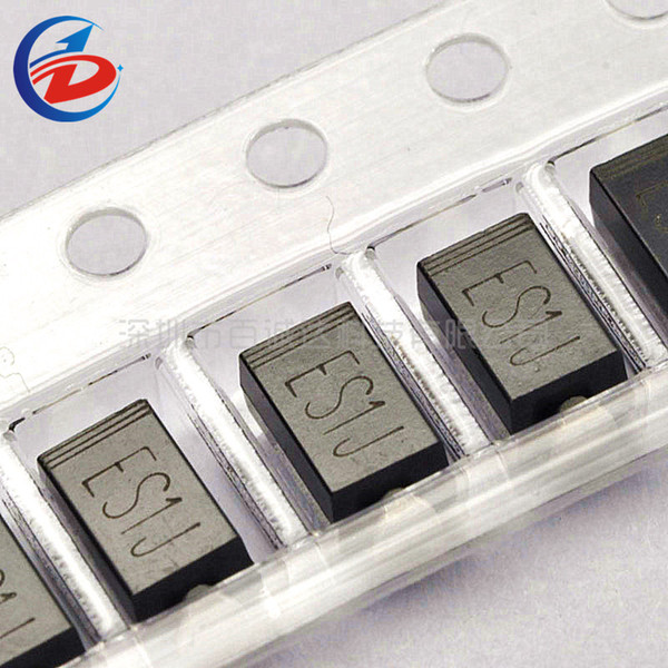 100Pcs/Pack SMD ES1J SF18 1A 600V Rectifier Fast Recovery Diode