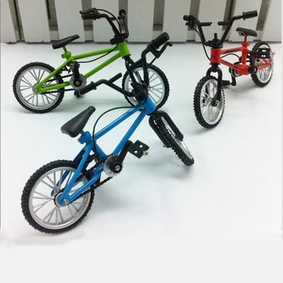 Novedad aleación dedo bicicleta desmontable aleación bicicleta nuevo juguete de escritorio novedad dedo modelo de bicicleta regalo de los niños