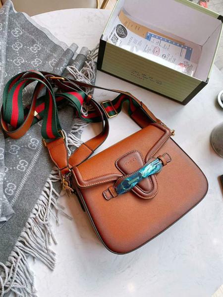 19ss yeniden tasarımı kadınlar deri domuz çanta çanta çanta moda omuz çantaları bayan çapraz çanta kılıf crossbody torba yeşil askıları kırmızı çanta