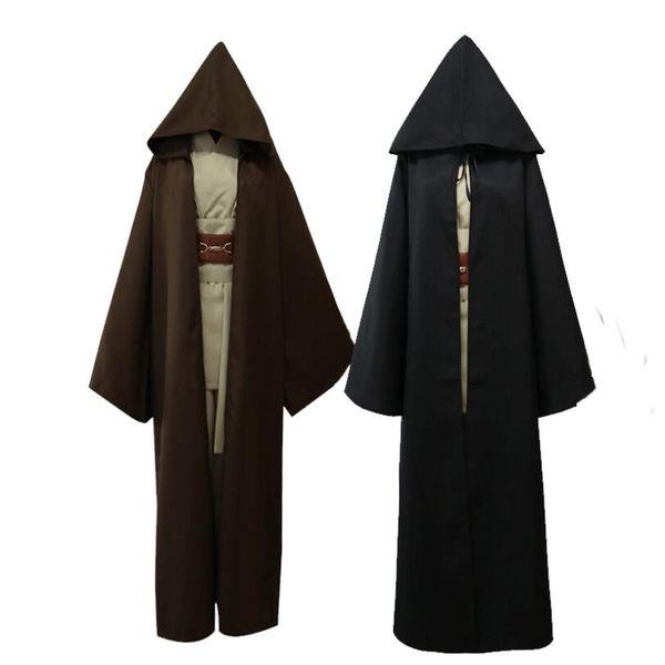 Halloween Jedi Ritter Cosplay Kostüme Anakin Cape Cloak Cosplay Set Bühne Zeigt Erwachsene Kleidung Freies Verschiffen
