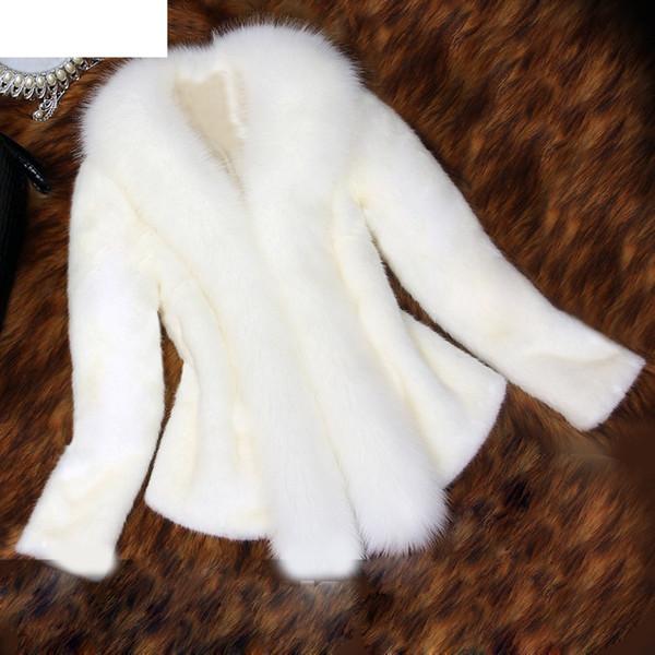 JAYCOSIN 2018 Womens Solid Warm Women Faux Fur Coat Elegant Thick Warm New Fashion Outerwear Fake Fur Jacket 18NOV5