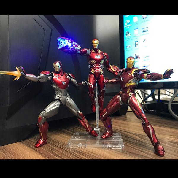 2019 Action Figures Marvel The Avengers iron Man mrke50 giocattoli modello Super hero doll MK50 MK46 MK47