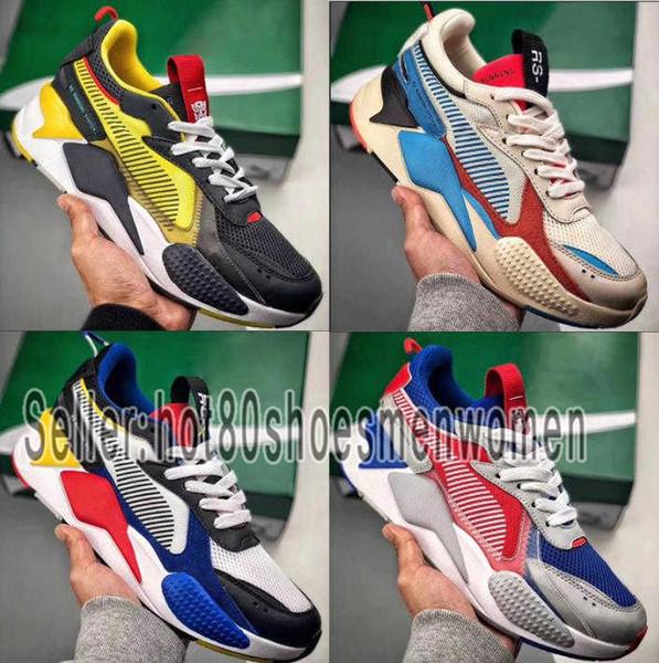 Compre Shoes PUMA Men Women 2019 Nueva Alta Calidad RS X Reinvención Juguetes Para Hombre Zapatillas De Diseñador De La Marca Hombres Hasbro
