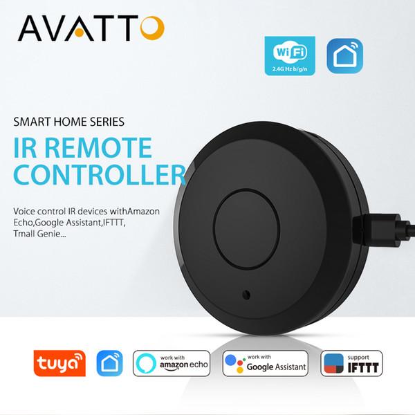 Avatto S07 Tuya Universal Smart 24g Wifi Ir Remote Control With Alexagoogle Home Voice Control Infrared Smart Home Automation Smart Home Egypt Smart
