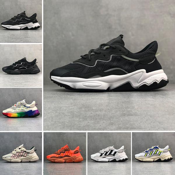 Großhandel Adidas Ozweego AdiPRENE Shoes Heißer Luxus 3 Mt Reflektierende Xeno Ozweego Für Männer Frauen Geschwindigkeit Calabasas Freizeitschuhe