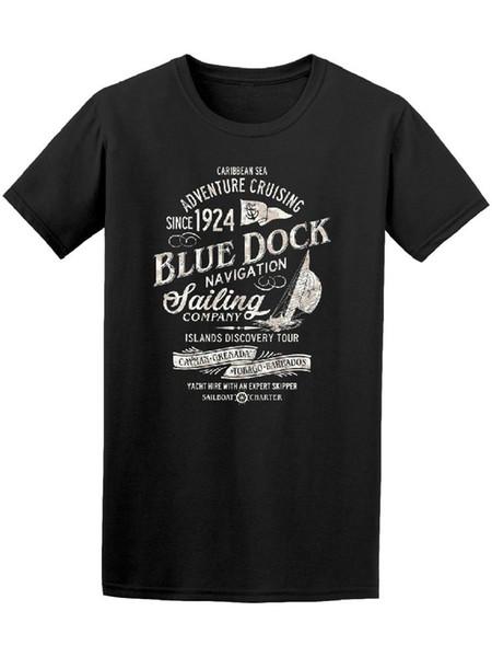 Camiseta Masculina de Aventura do Mar do Caribe - Imagem por Moda
