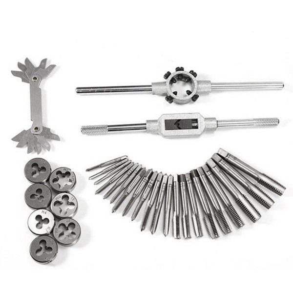 Screw Thread Metric Plugs Taps And Die Wrench Set Used For Electric Tools For Model Processing Handmade Diy