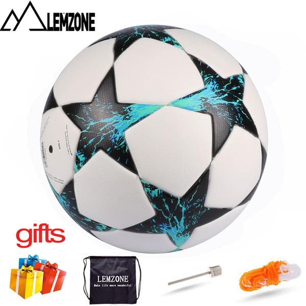best selling 5-a-side FUTSAL Soccer Ball Size 4 For Champions League football PU Sports Light Training Football ball voetbal futbol Free Gift