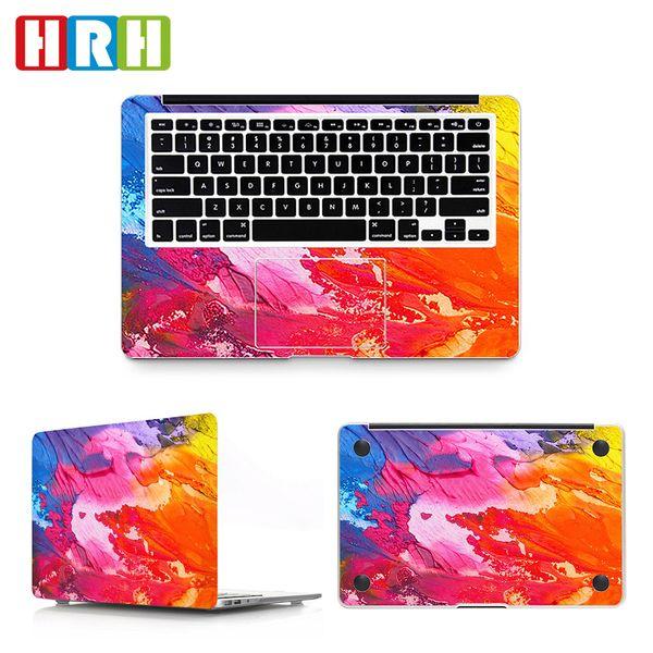 HRH 3in1Graffiti Laptop Skin Vinyl Aufkleber Aufkleber für Macbook Air A1932 Hülle 2018 11 12 13 15