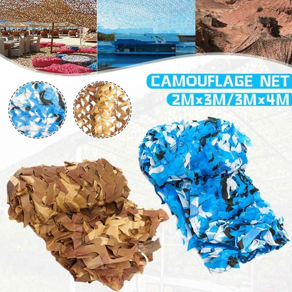 2x3 3x4 meter hunting camping camouflage net camo outdoor pgraphy jungle blinds sunscreen car-covers sun shelter thumbnail