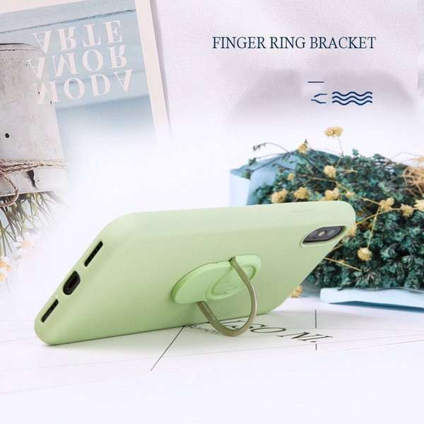 IPhone Case Bracket housing Case for iPhone 6s 7 8 Plus X 10 XS Max XR Silicone Cover mobile phone case