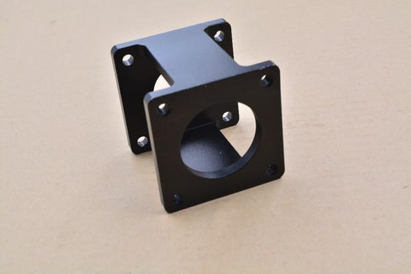 Nema34 servomotor sitz 86 stepper ausgestattet schwarz stahl halterung diy cnc teile 1 stück