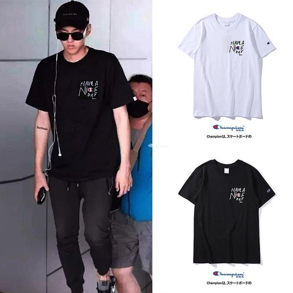 89e5dd05 Brand men's t shirt top star with the same monogrammed signature t shirt  famous designer special