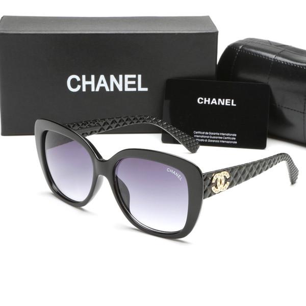 2019 diseñador de lujo de la marca francesa 9173 gafas de sol de diseñador de moda para mujer estilo cuadrado de verano para mujer gafas de conducción de alta calidad