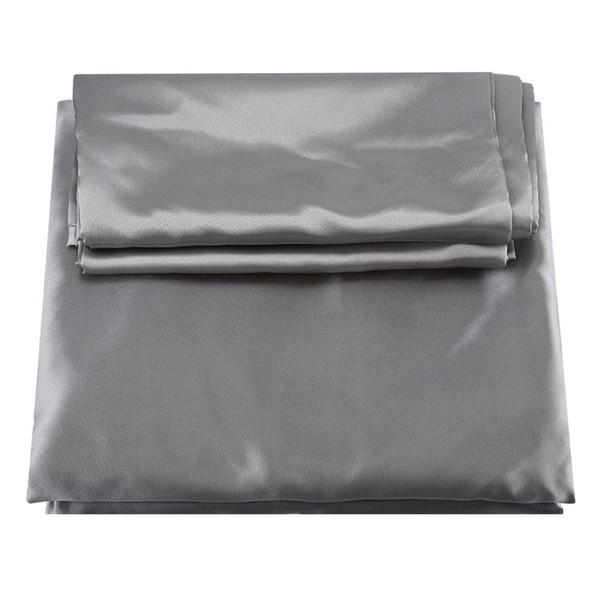 3 Teile / satz Modernen Stil Künstliche Bettwäsche Set Kissenbezug Spannbetttuch Bettbezug