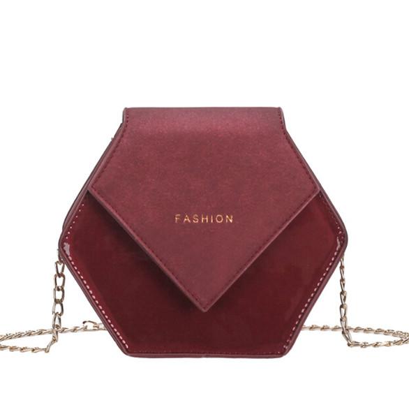 autumn new small female 2019 new hong kong style retro shoulder bag wild messenger bag honey package