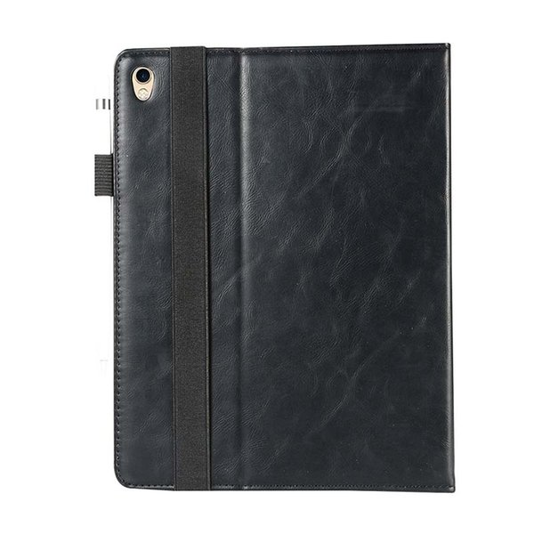 Luxury Classic Half Genuine Leather Tablet case for iPad Pro 11 ipad 5 6 PRO 9.7 cover case Shockproof Leather Tablet Case